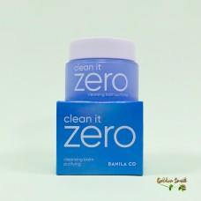 Очищающий крем-щербет (успокаивающий) для проблемной кожи лица 100 мл Banila Co Clean it Zero Cleansing Balm Purifying