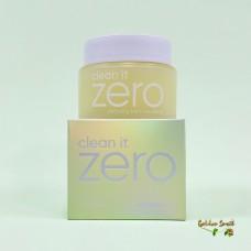 Очищающий крем-щербет питательный для нормальной и сухой кожи 100 мл Banila Co Clean it Zero Сleansing Balm Nourishing