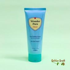 Очищающая пенка для кожи с расширенными порами 170 мл Etude House Wonder Pore Deep Foaming Cleanser