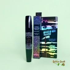 Удлиняющая водостойкая тушь с коллагеном 3W Clinic Collagen Long Lash Mascara
