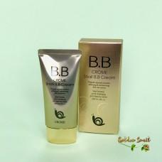 ББ крем для лица с экстрактом муцина улитки Crome Snail BB cream SPF50+ PA+++