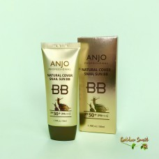 Увлажняющий ББ крем Anjo Natural Cover Snail Sun BB SPF50+ PA+++