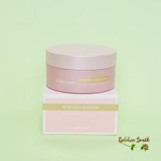 Гидрогелевые патчи с розовыми цветами золотом и пептидами Elrastory Rose Gold Blossom Hydra Expert Eye Patch
