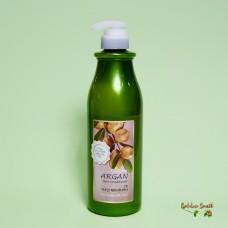 Восстанавливающий кондиционер с маслом арганы 750 мл Welkos Confume Argan Hair Conditioner
