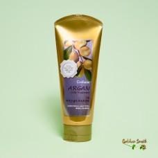 Маска для волос с аргановым маслом и частичками золота Welcos Confume Argan Gold Treatment