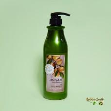 Шампунь с аргановым маслом для роста волос против секущихся кончиков 750 мл Welcos Confume Argan Hair Shampoo