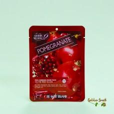 Маска для лица тканевая с экстрактом граната May Island Pomegranate