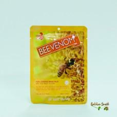 Маска для лица тканевая увлажняющая с экстрактом пчелиного яда May Island Real Essence Mask Pack Bee Venom