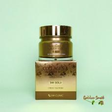 Восстанавливающий крем для лица с коллоидным золотом и коллагеном 100 мл 3W Clinic Collagen & Luxury Golg Revitalizing Comfort Gold Cream