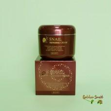 Восстанавливающий крем с муцином улитки Jigott Snail Repairing Cream