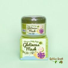 Восстанавливающий крем-маска для лица с муцином улитки Elizavecca Milky Glutinous Mask 80% Snail Cream