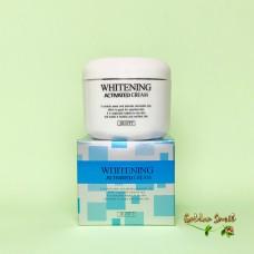 Отбеливающий крем для лица 100 гр Jigott Whitening Activated Cream