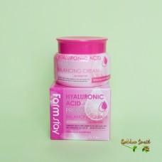 Увлажняющий крем с гиалуроновой кислотой FarmStay Hyaluronic Premium Balancing Cream