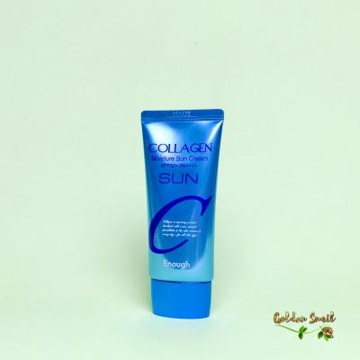 Увлажняющий солнцезащитный крем с коллагеном 50 мл Enough Collagen Moisture Sun Cream SPF50+ PA+++