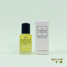 100% натуральное масло для лица So Natural Concentrate Premium Essential Deep Facial Oil