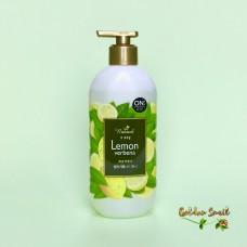 Гель-энергетик для душа с экстрактом лимона и вербены 500 мл On the Body Natural Lemon&Verbena