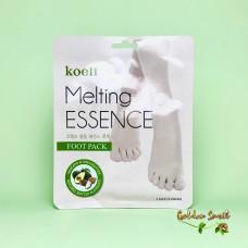 Питательная маска для ног Koelf Melting Essence Foot Mask