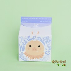 Осветляющий крем для лица на основе козье  молока и масло ши Elizavecca Milky Piggy Real White Time Milk Cream