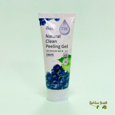 Пилинг-скатка с экстрактом винограда 180 мл Ekel Natural Clean Peeling Gel Grape