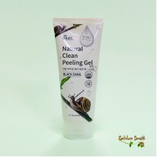 Пилинг-скатка с экстрактом черной улитки 180 мл Ekel Natural Clean Peeling Gel Black Snail