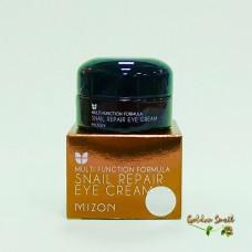 Антивозрастной крем для век с фильтратом слизи улитки и EGF 25 мл Mizon Snail Repair Eye Cream