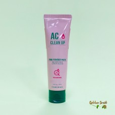 Маска с розовой глиной для проблемной кожи Etude House AC Clean Up Pink Powder Mask