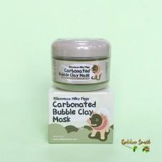 Пузырьковая очищающая глиняная маска для лица Elizavecca Milky Piggy Carbonated Bubble Clay