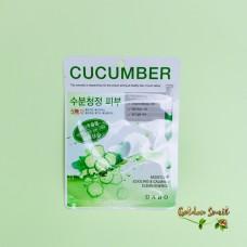 Тканевая маска c экстрактом огурца Dabo First Solution Cucumber Mask