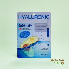 Тканевая маска с гиалуроновой кислотой Dаbo Hyaluronic mask