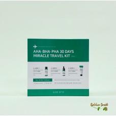 Набор мини версий для проблемной кожи Some By Mi AHA-BHA-PHA 30 Days Miracl Travel Kit