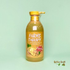 Гель для душа на основе минеральной воды с экстрактом манго 700 мл Daeng Gi Meo Ri Farms Therapy Sparking Mango Rush Clean Body Wash