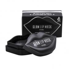 Гидрогелевые патчи для губ с экстрактом жемчуга 20 шт BeauuGreen Hydrogel Glam Lip Mask Pearl