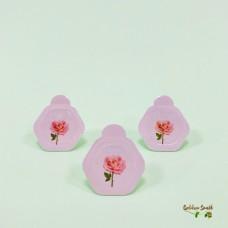 Энзимная пудра для сияния кожи с розовой водой JMsolution Glow Luminious Flower Firming Powder Cleanser Rose