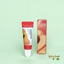 Скраб для губ с экстрактом абрикоса Missha Superfood Apricot Seed Lip Scrub