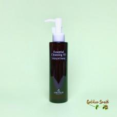 Гидрофильное масло с подсолнечником, оливой и шиповником 150 мл The Skin House essential cleansing oil