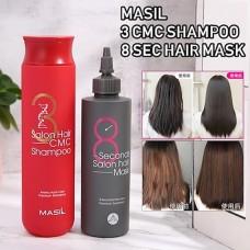 Восстанавливающий шампунь с аминокислотами Masil 3 Salon Hair CMC Shampoo