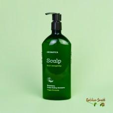 Бессульфатный укрепляющий шампунь с розмарином 400 мл Aromatica Rosemary Scalp Scaling Shampoo