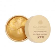 Гидрогелевые патчи с муцином улитки и коллоидным золотом Petitfee Gold & Snail Hydrogel Eye Patch