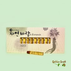 Ампулы для волос с экстрактом женьшеня 15* 13 мл Jayeon Baram ampoule