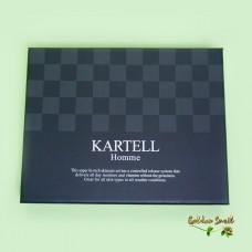Уходовый набор для мужчин с муцином улитки Kartell Homme Skincare Set