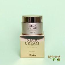 Интенсивно омолаживающий лифтинг крем для шеи и лица Vella Neck Cream Dual Effect Nourishing Intensive