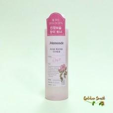 Освежающий и увлажняющий тонер с экстрактом дамасской розы Mamonde Rose Water Toner