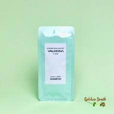 Шампунь аюрведический для оздоровления кожи головы 10 мл Valmona  Ayurvedic Scalp Solution Black Cumin Shampoo