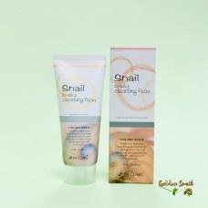Пенка для умывания с улиточным муцином 3W Clinic Snail Lovely Cleansing Foam
