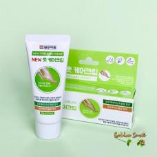 Многофункциональный крем для ног с мочевиной и маслом ши Il Yang Pharm New Foot Care Cream