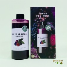 Детокс очищение для упругости кожи 300 мл Wonder Bath Super Vegitoks Cleanser Purple
