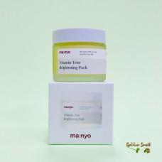 Ночная осветляющая маска с облепихой Manyo Factory Vitamin Tree Brightening Pack