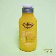 Освежающий шампунь на основе мандарина 500 мл Fresh Pop Fresh Mandarin & Yuzu Recipe Shampoo