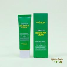 Обновляющий крем с кислотами и центеллой 50 мл Trimay Aha Bha Pha Centella Cream