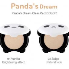 Пудра компактная матирующая Tony Moly Panda's Dream Clear Pact SPF25 PA++